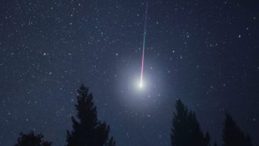 Lyrids meteor shower 2015