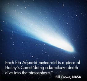 Eta Aquarids meteor shower 2016