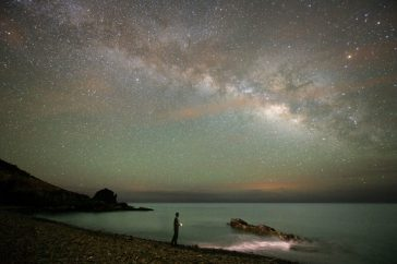 Haz turismo mirando estrellas